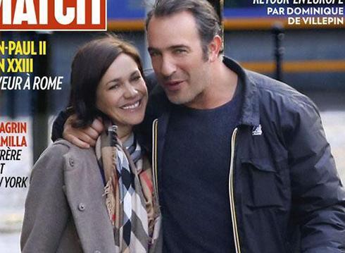 Jean dujardin et nathalie p chalat ils sont parents for Gaelle et jean dujardin