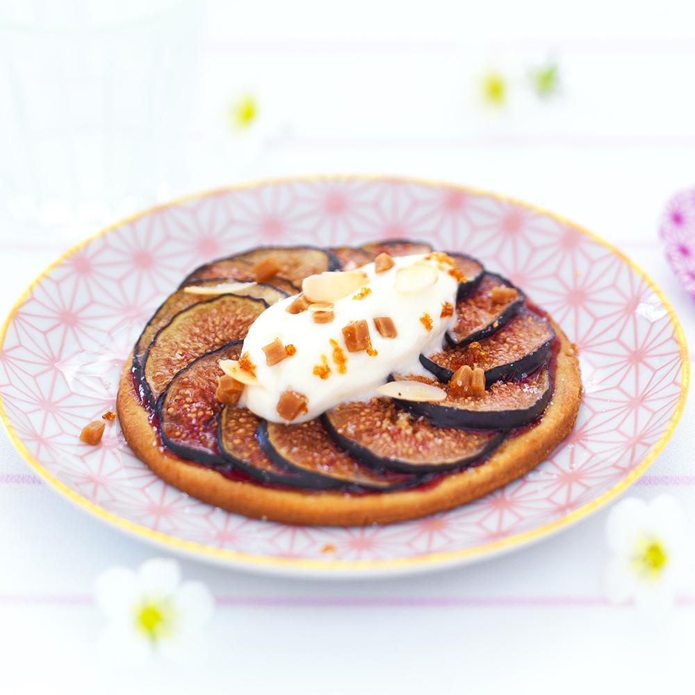 recette tarte aux figues et cr 232 me fra 238 che aux p 233 pites de