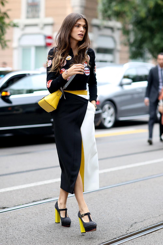 Fashion Week Street Style Milan Madame Figaro