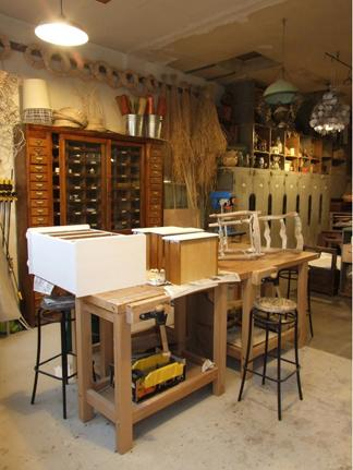 Surfaces de r paration madame figaro - Amenager son atelier de bricolage ...