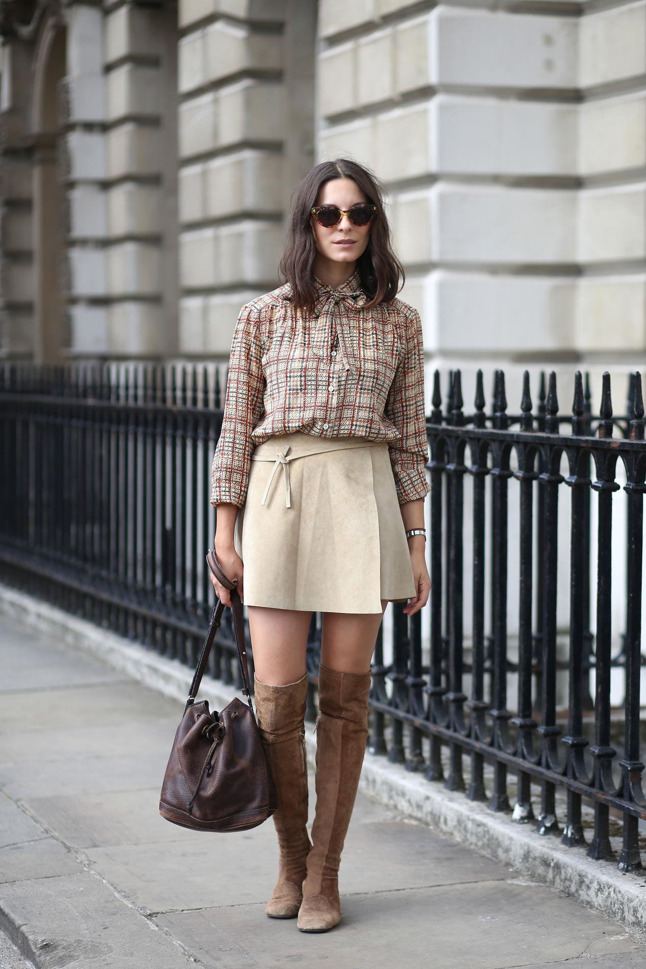 Berühmt Bottes : comment les associer à une jupe ? - Madame Figaro XD86
