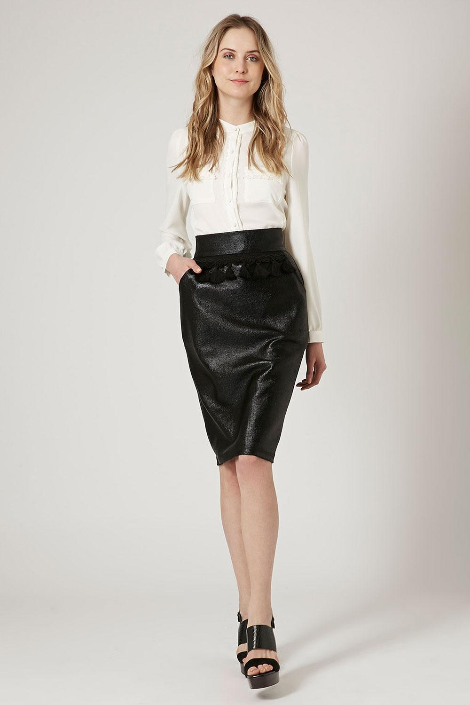 Tenue avec jupe fashion designs - Tenue avec jupe en cuir ...