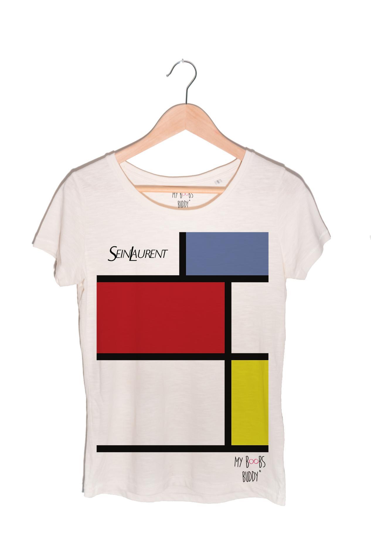 Offrez un T-shirt Sein Laurent pour la bonne cause ! - Madame Figaro 3cff0ca6c49