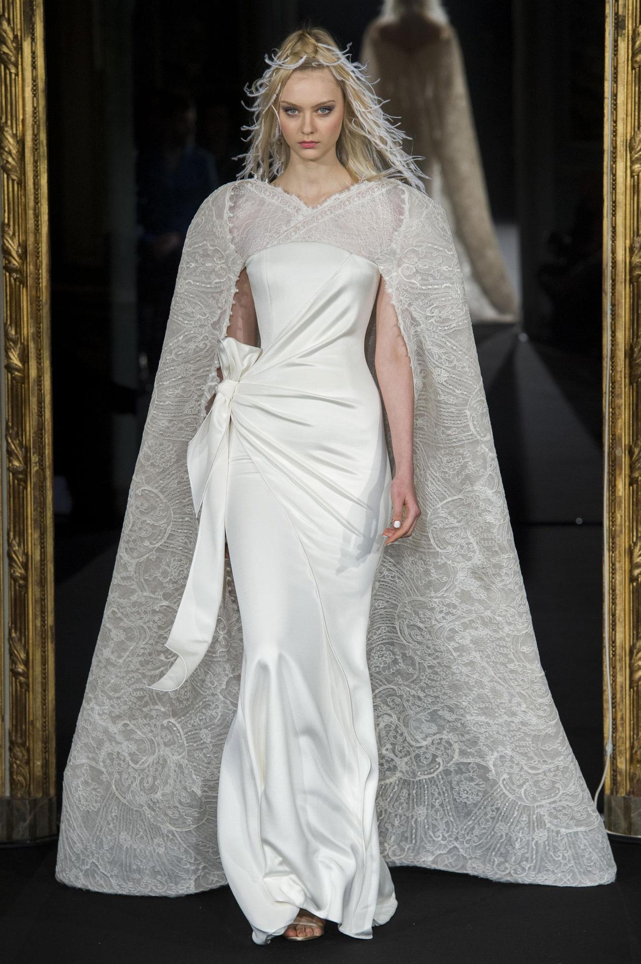 Le top 10 des robes de mariée haute couture  Le Figaro Madame