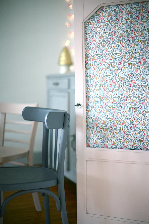 Et si on mettait du papier peint ailleurs que sur les murs - Transformer une fenetre en porte fenetre ...