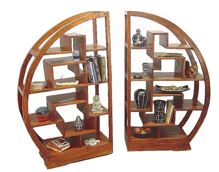 Une biblioth que design dans mon salon le figaro madame - Deco bibliotheque originale ...