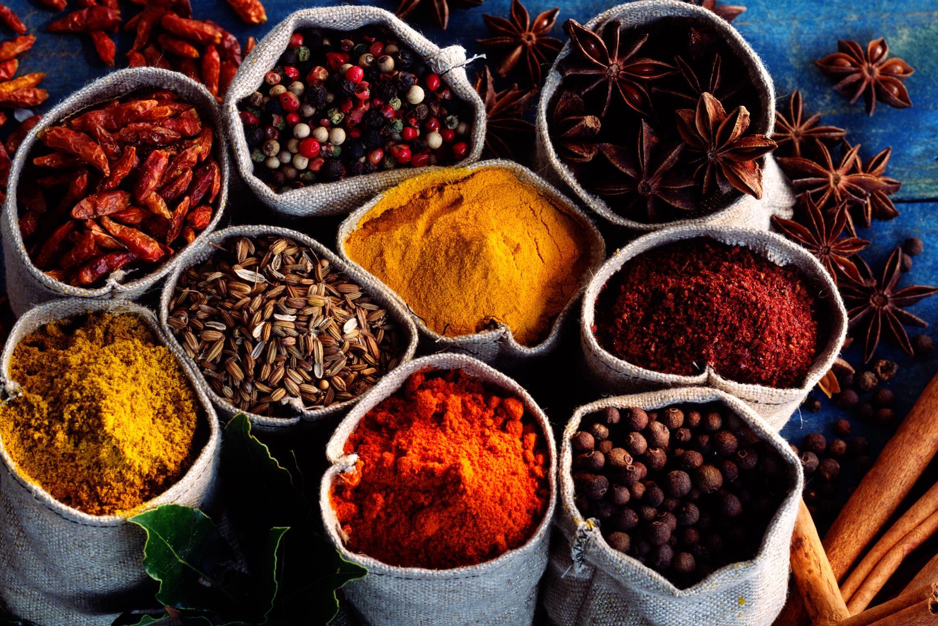 Listes Des épices : Quelles épices choisir pour quels bienfaits le figaro