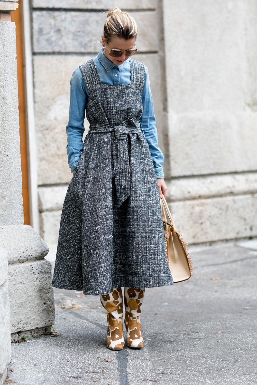 Street Style Les Bella Donna Illuminent Les Rues De Milan Madame Figaro