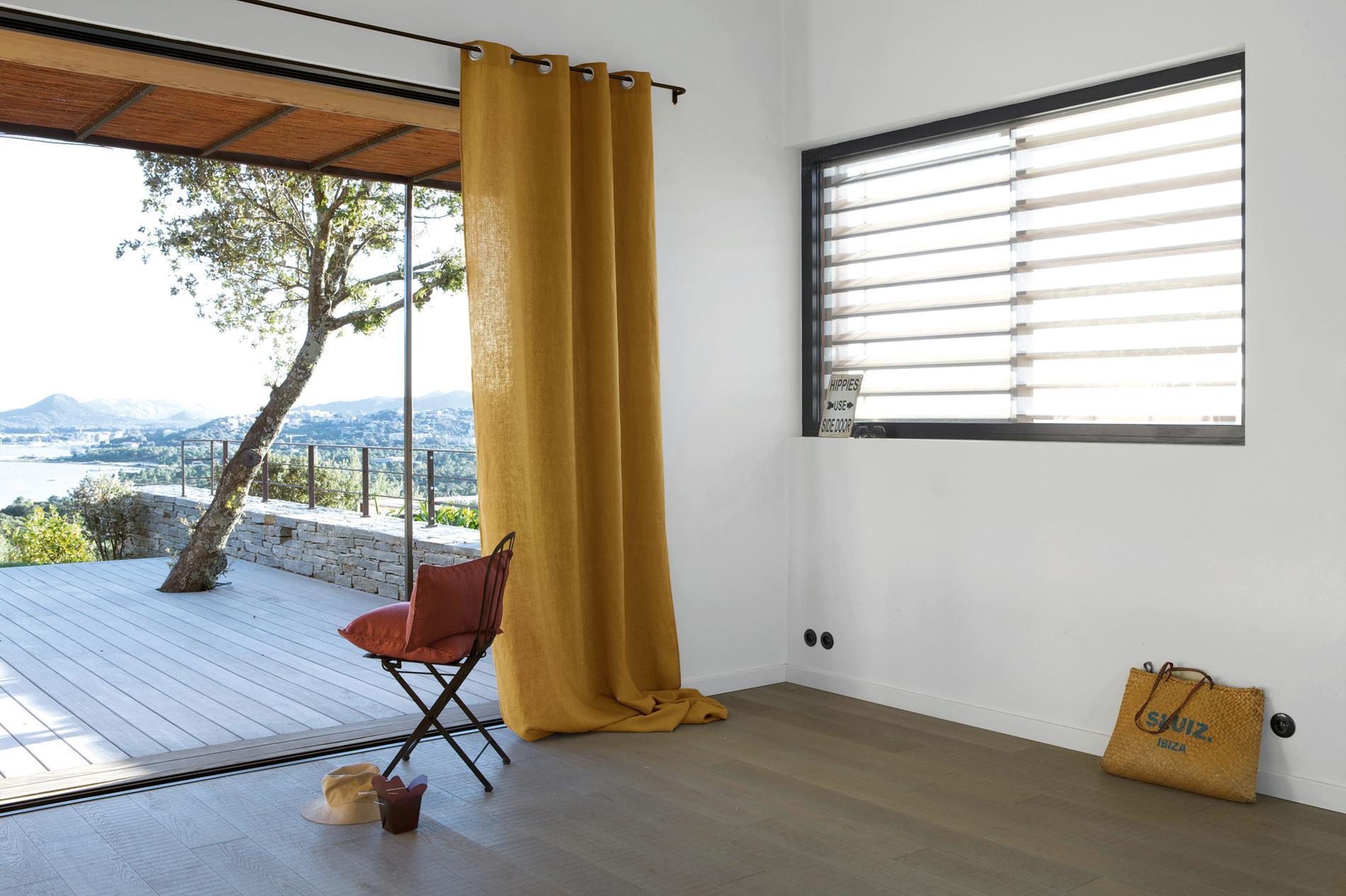 rideaux 20 nouveaut s pour habiller ses fen tres avec l gance madame figaro. Black Bedroom Furniture Sets. Home Design Ideas
