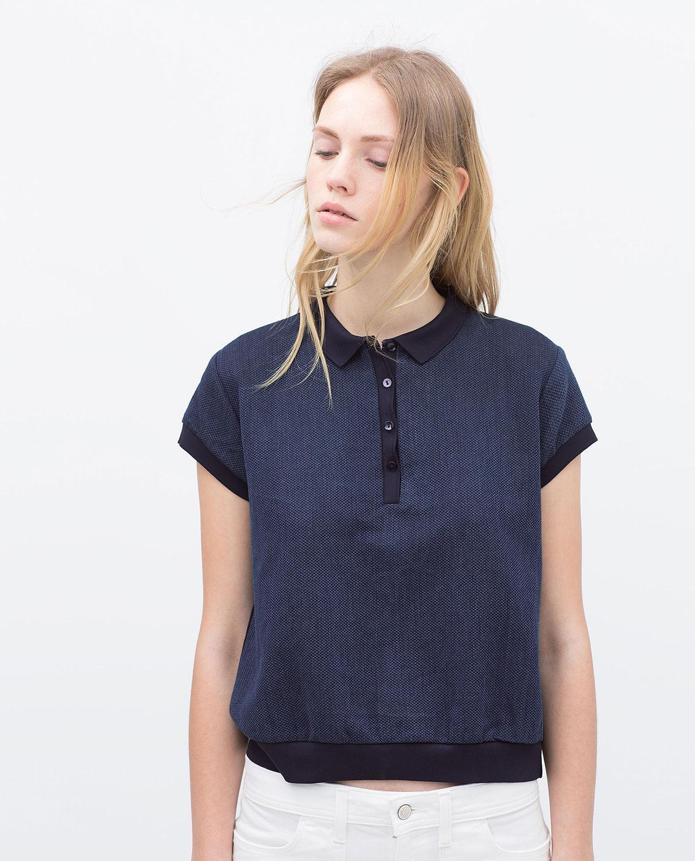Comment porter le polo sans avoir l 39 air coinc madame figaro for Polo shirt girl addiction