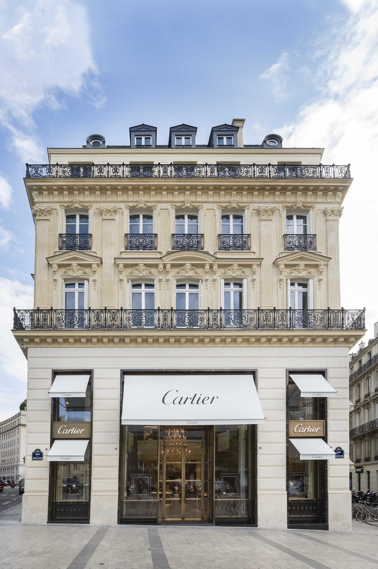 Cartier Ouvre  U00e0 Nouveau Ses Portes Sur Les Champs