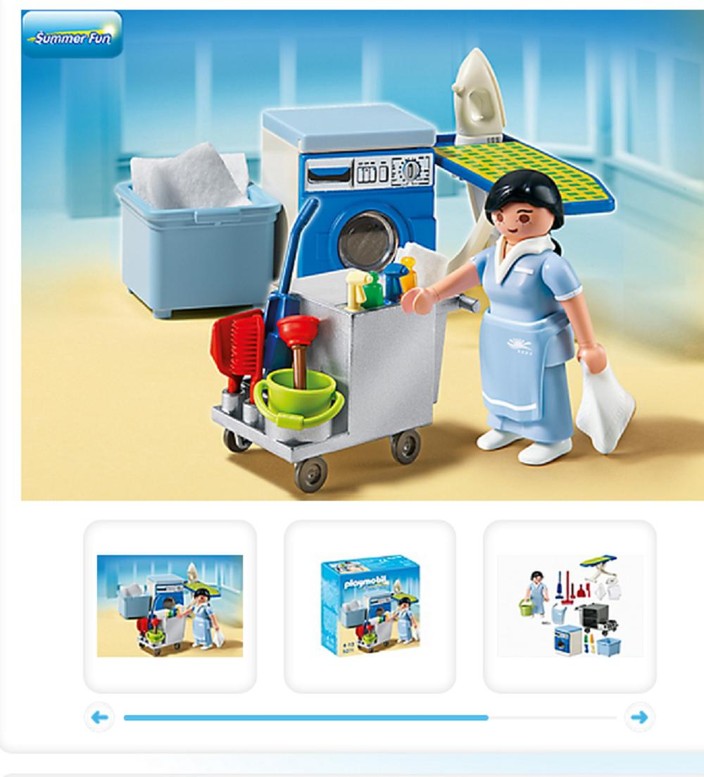 L 39 histoire peu glorieuse des femmes playmobil madame figaro for Playmobil buanderie