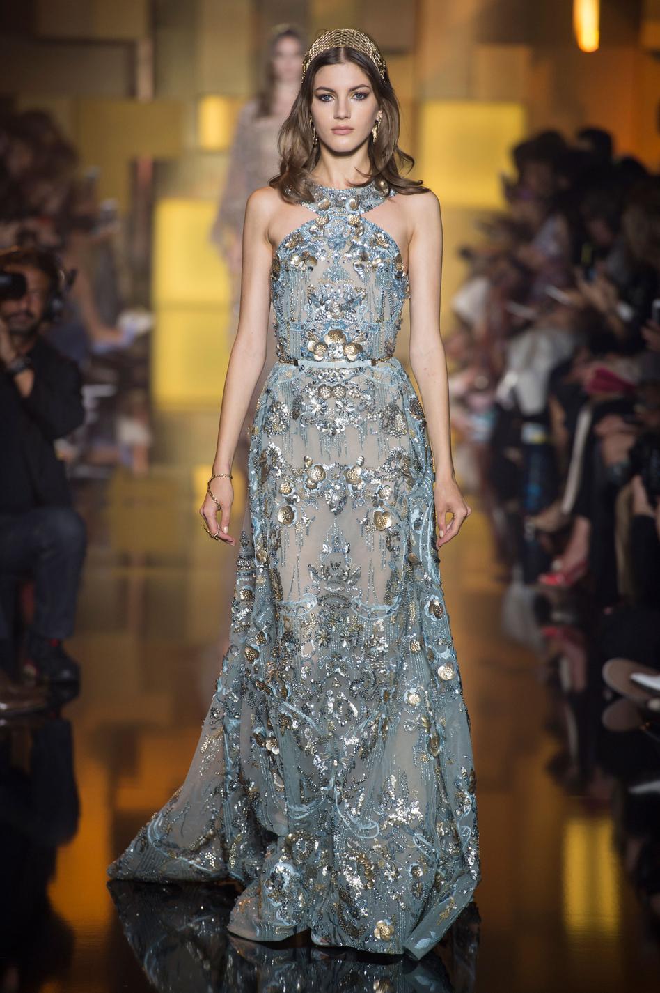 Les robes haute couture automne,hiver 2015,2016 les plus spectaculaires