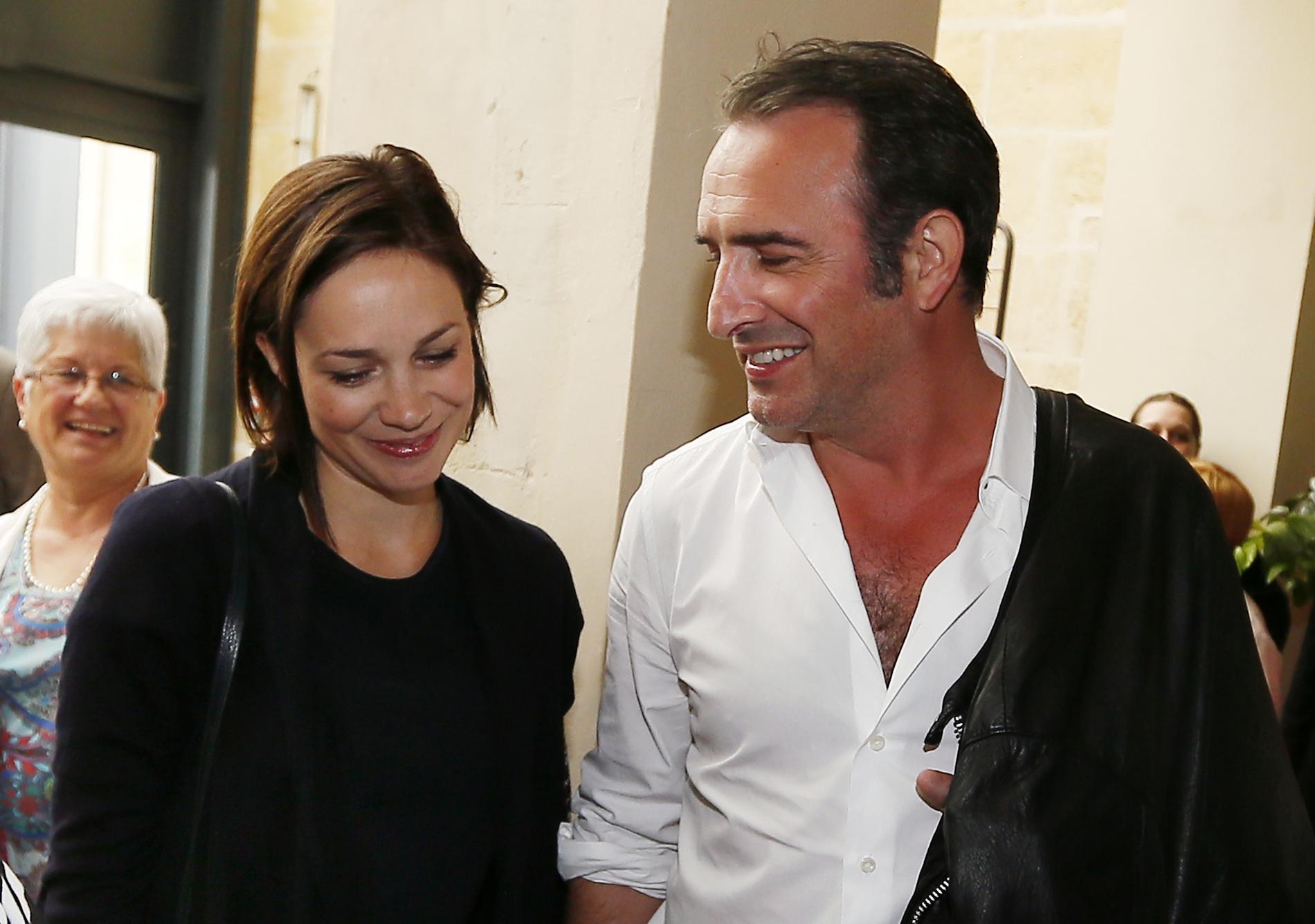 Jean dujardin et nathalie p chalat ils sont parents for Nathalie jean dujardin