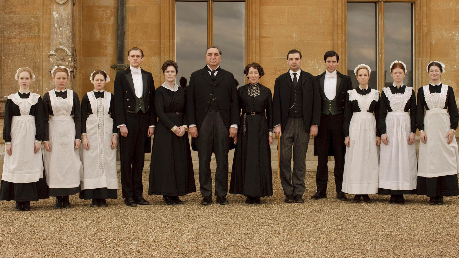Recevoir fa on downton abbey nous la vie de ch teau - Chateau downton abbey ...