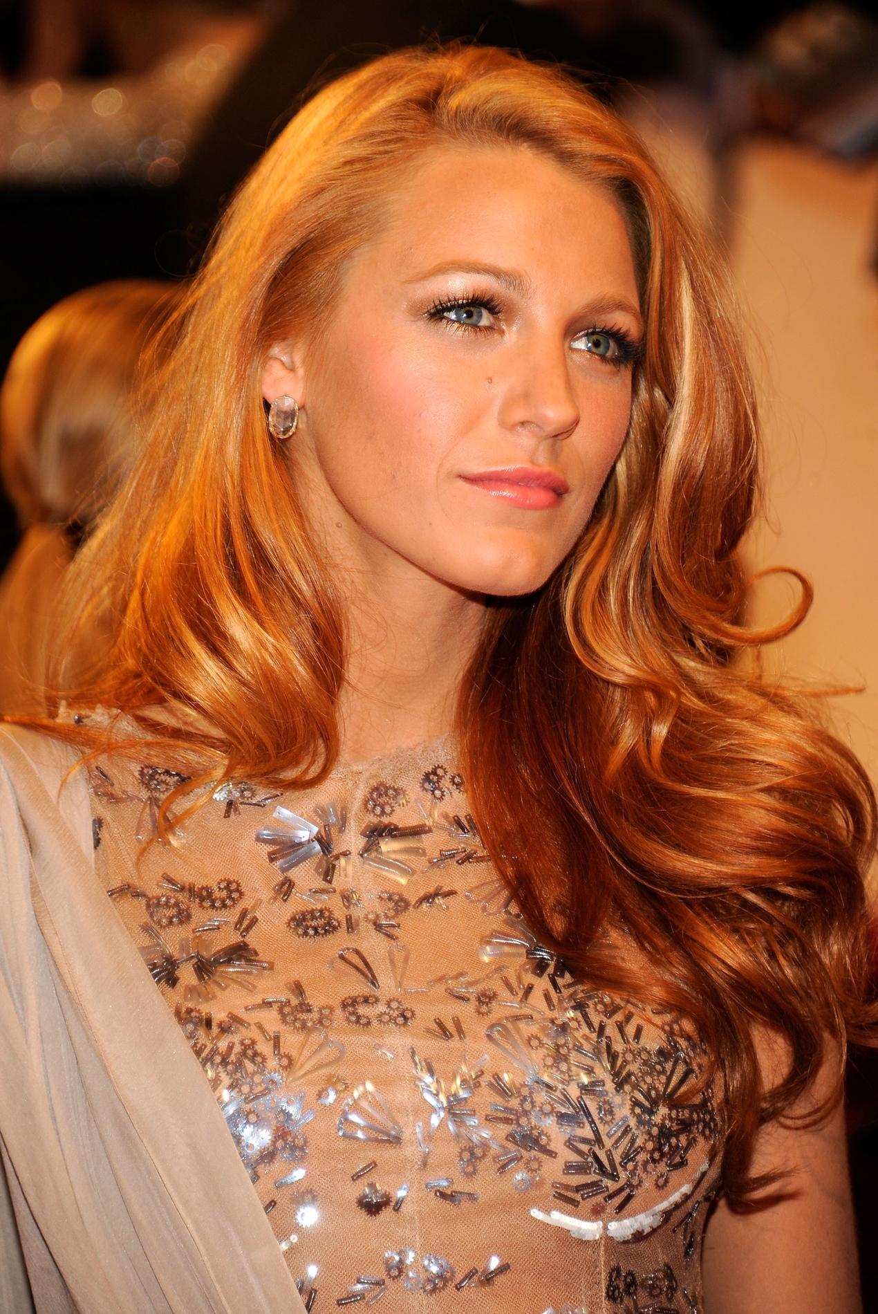 Blond fraise la tendance coloration pas si trange - Blond venitien clair ...