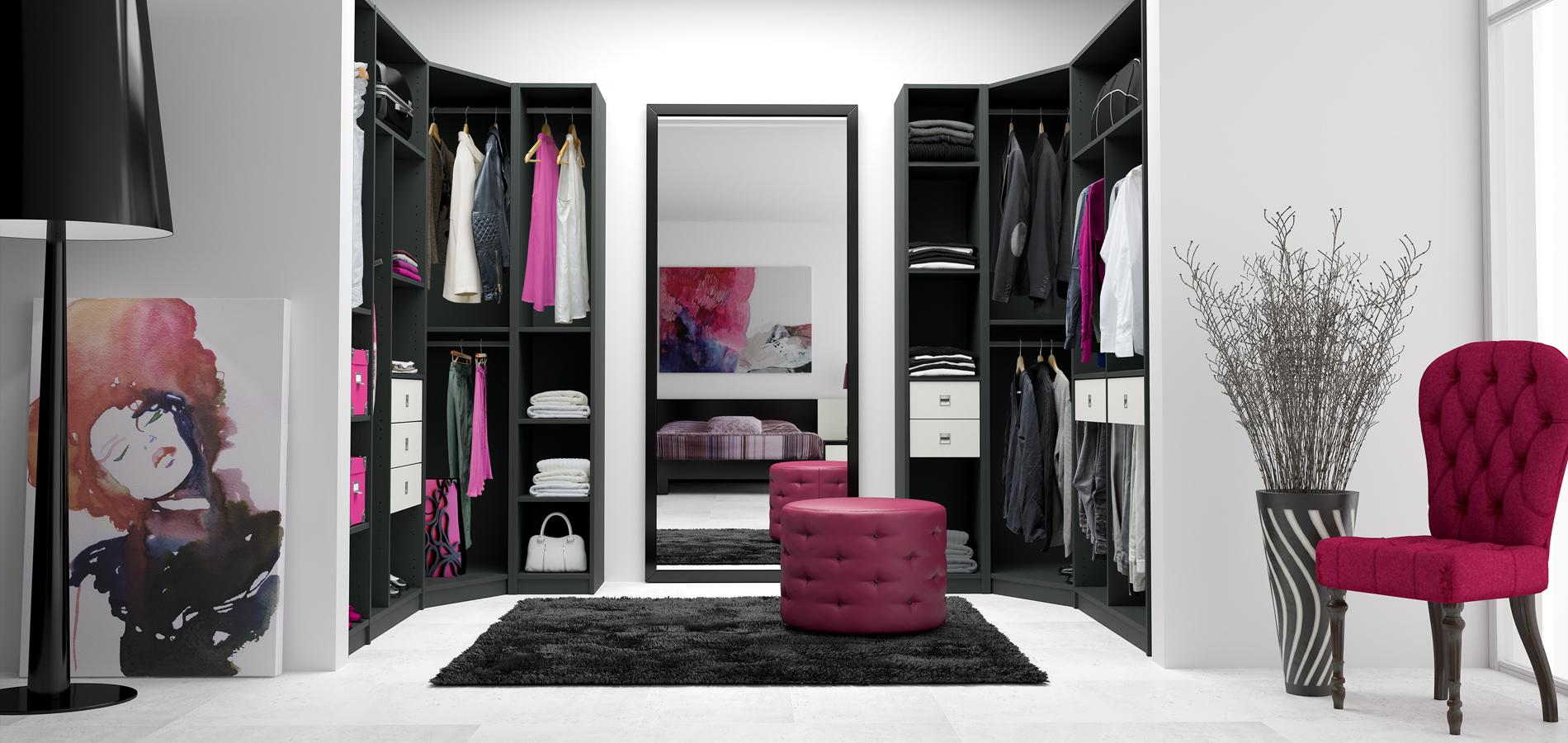 cinq conseils pour bien am nager son dressing madame figaro. Black Bedroom Furniture Sets. Home Design Ideas