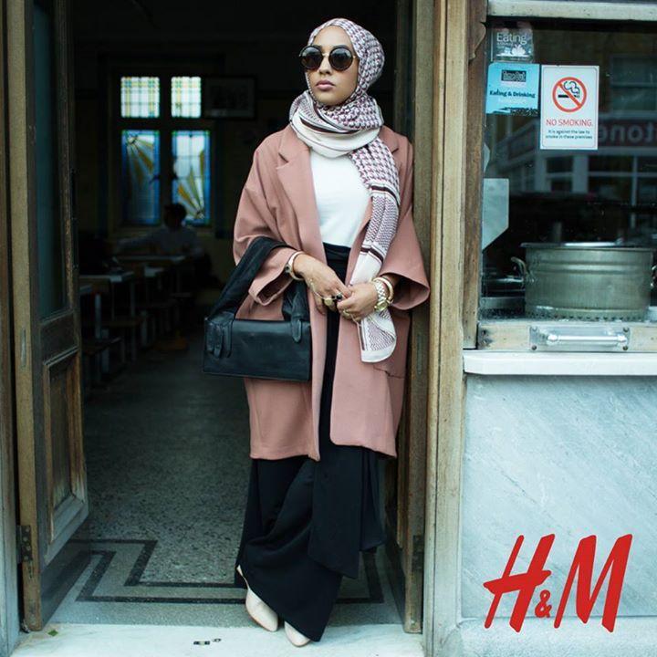 Préférence Une femme voilée dans la dernière campagne H&M - Madame Figaro TQ88