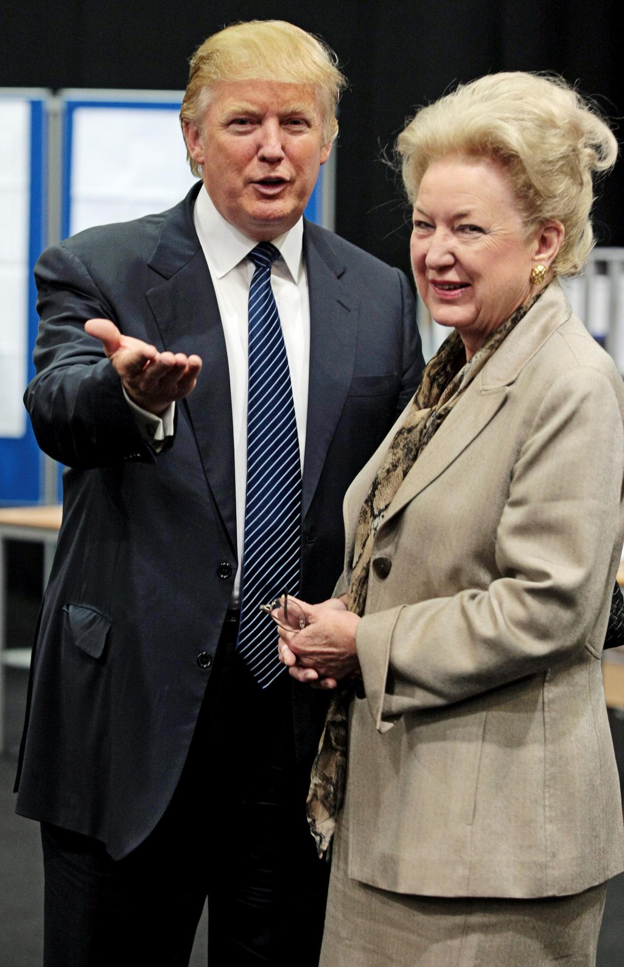 Donald trump et ses drôles de dames