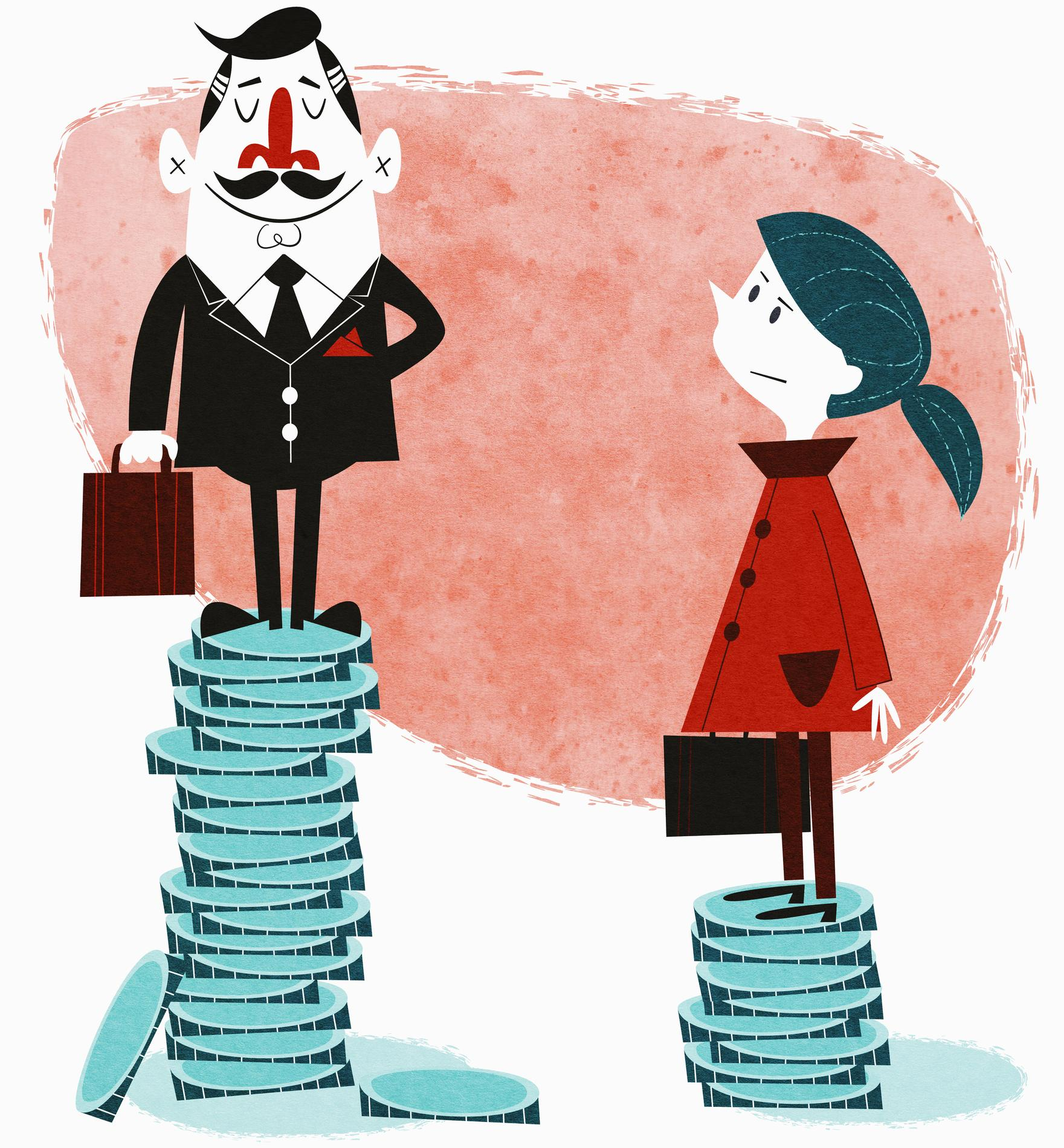 les salaires des hommes baissent ceux des femmes moins madame figaro. Black Bedroom Furniture Sets. Home Design Ideas