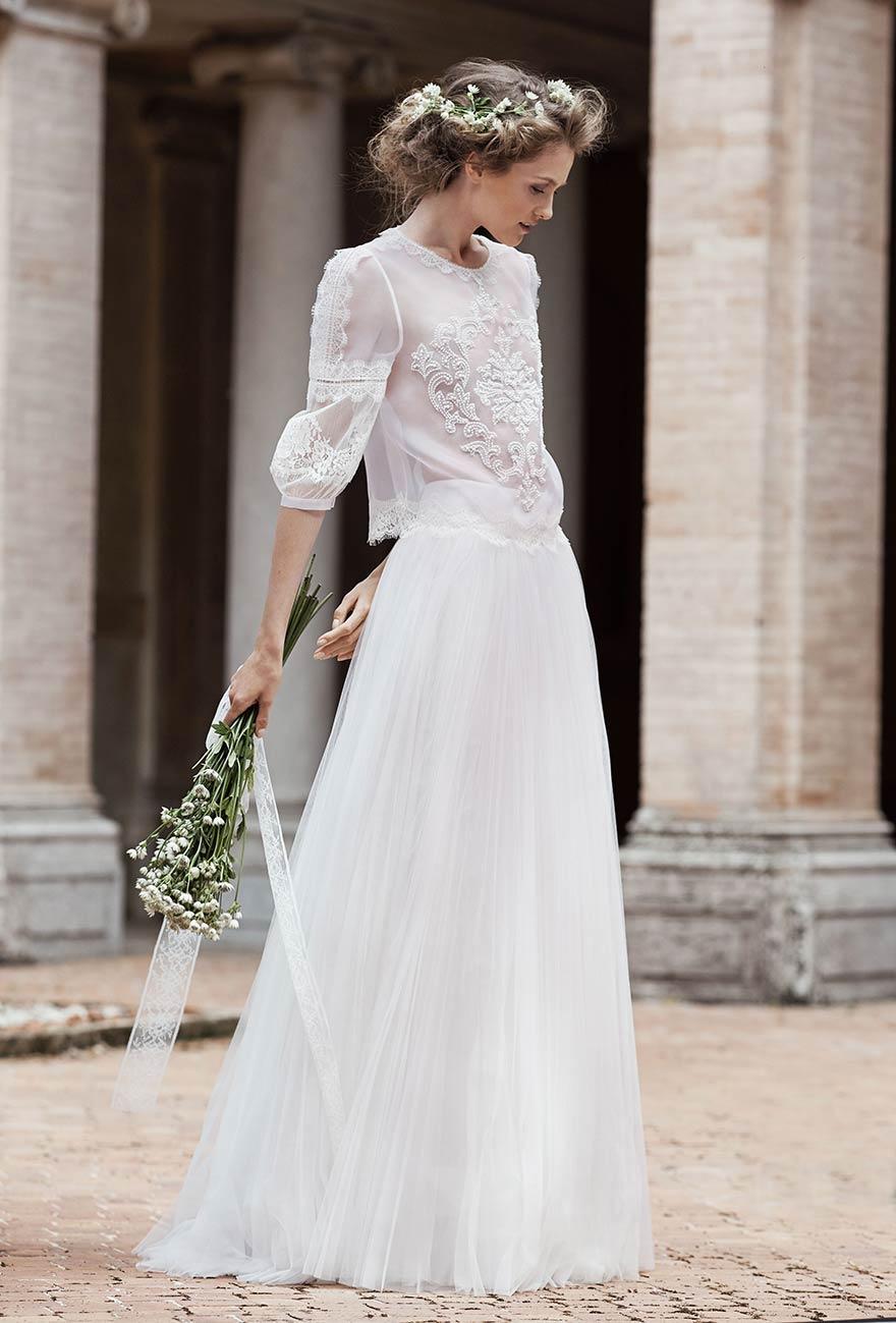 Mariage en hiver les plus belles robes de la saison for Boîtes pour robes de mariée