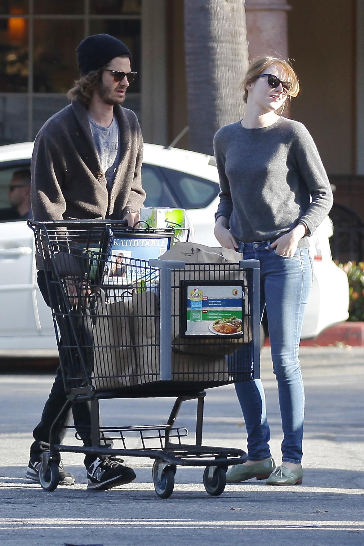 Clap de fin pour Emma Stone et Andrew Garfield - Madame Figaro Andrew Garfield
