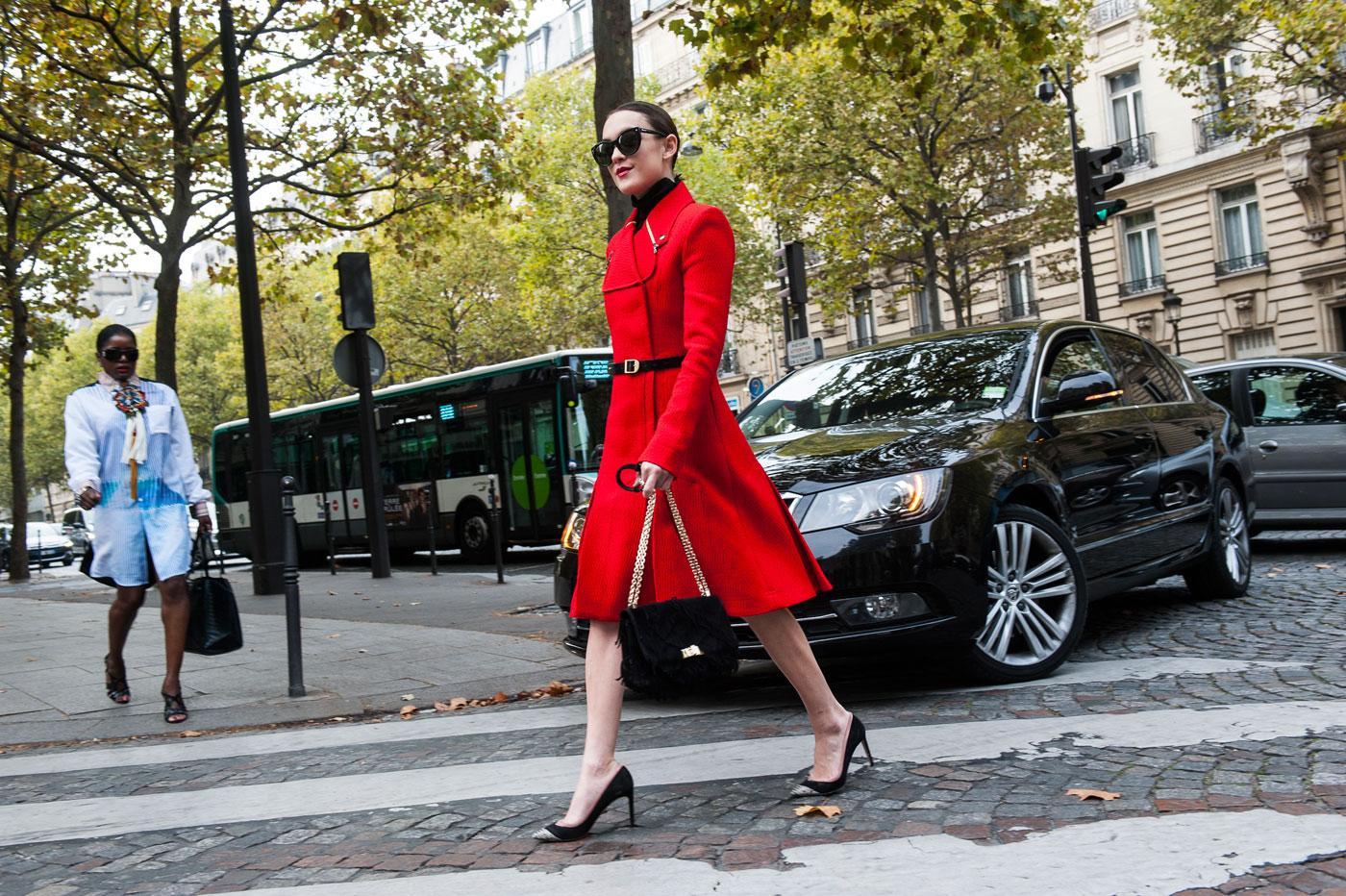 Le meilleur du street style de la fashion week de paris le figaro madame Style fashion week in la