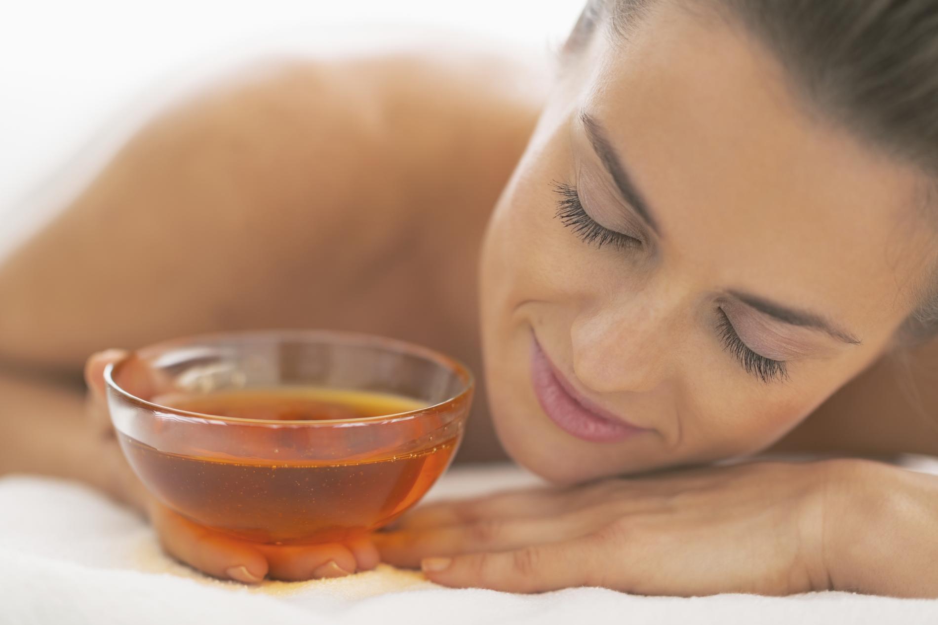soins de visage avec le miel