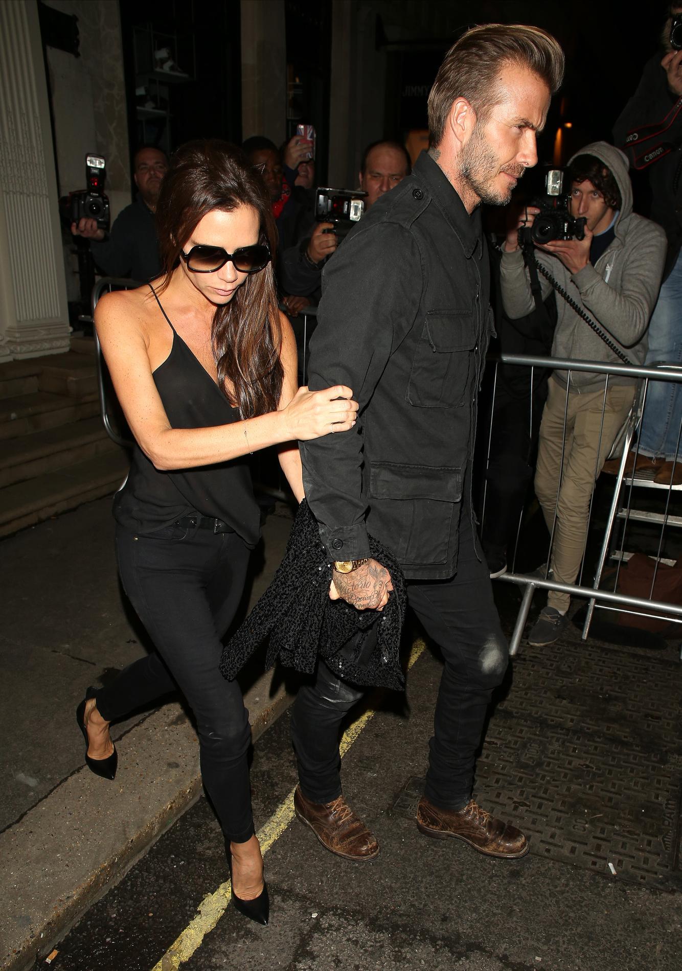 David & Victoria Beckham Divorce Drama Is Fairytale ...