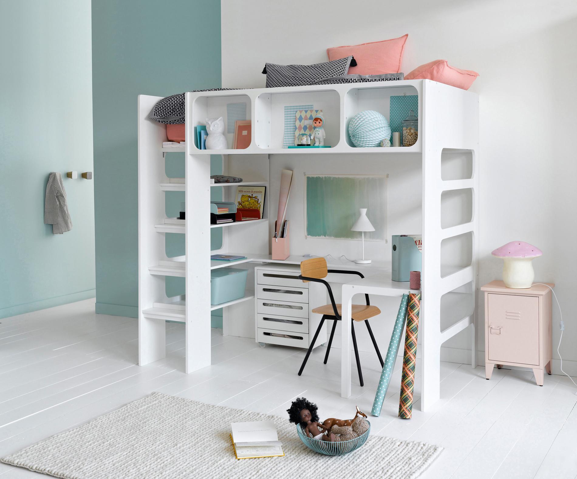 cinq conseils d co pour optimiser une petite chambre madame. Black Bedroom Furniture Sets. Home Design Ideas