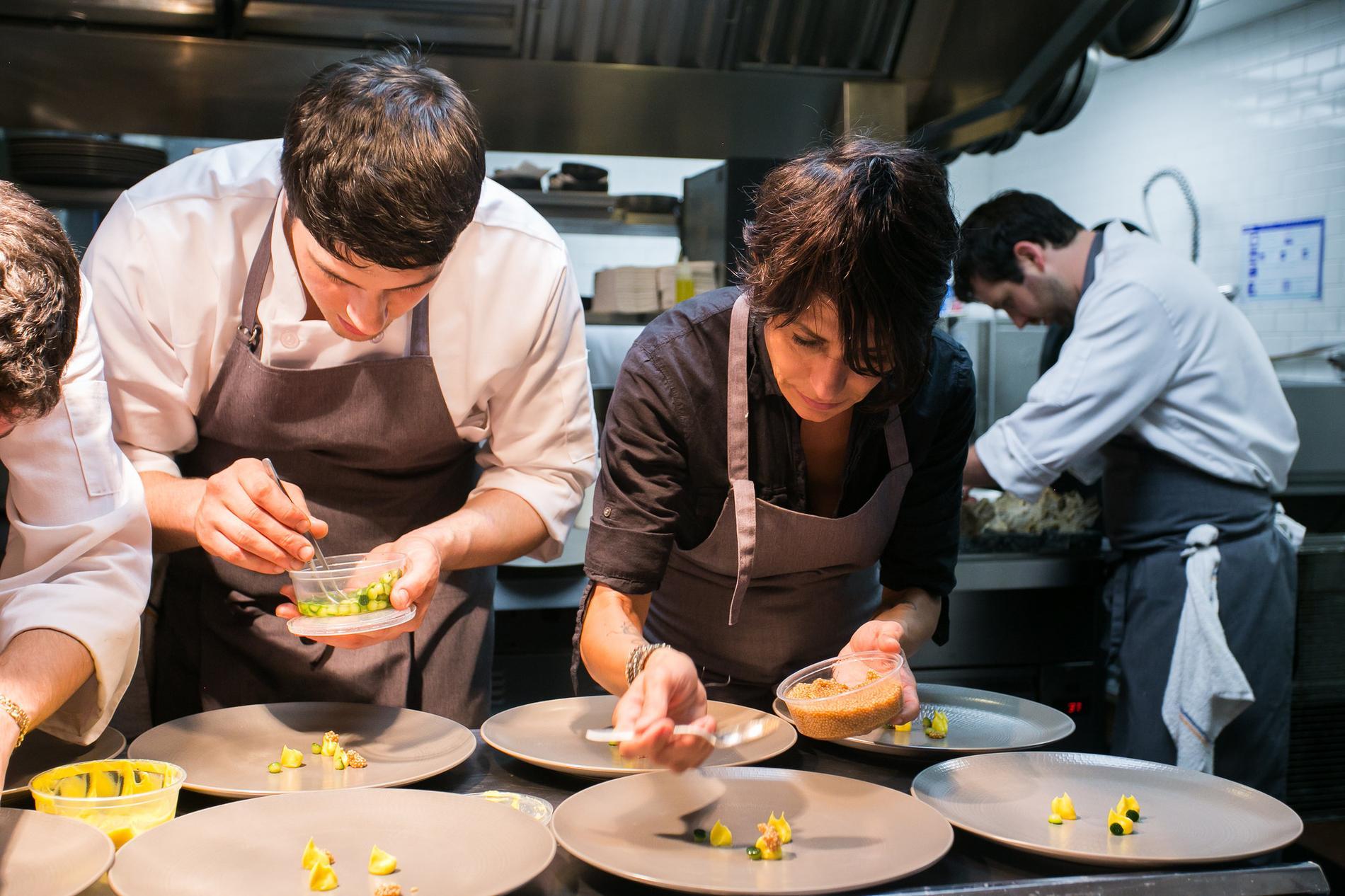 Dominique crenn est lue meilleure femme chef au monde cuisine madame figaro - Meilleur cuisine au monde ...