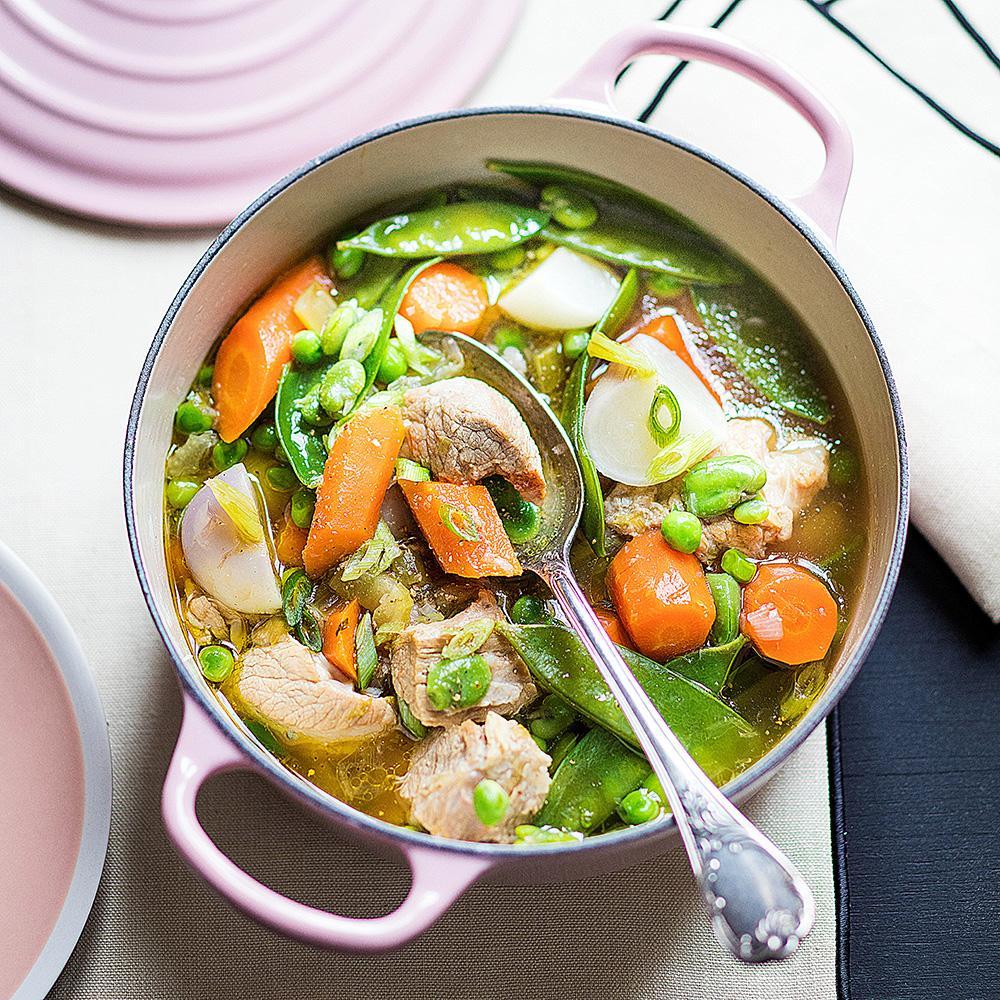 Id es repas soir printemps - Recette de cuisine blanquette de veau ...