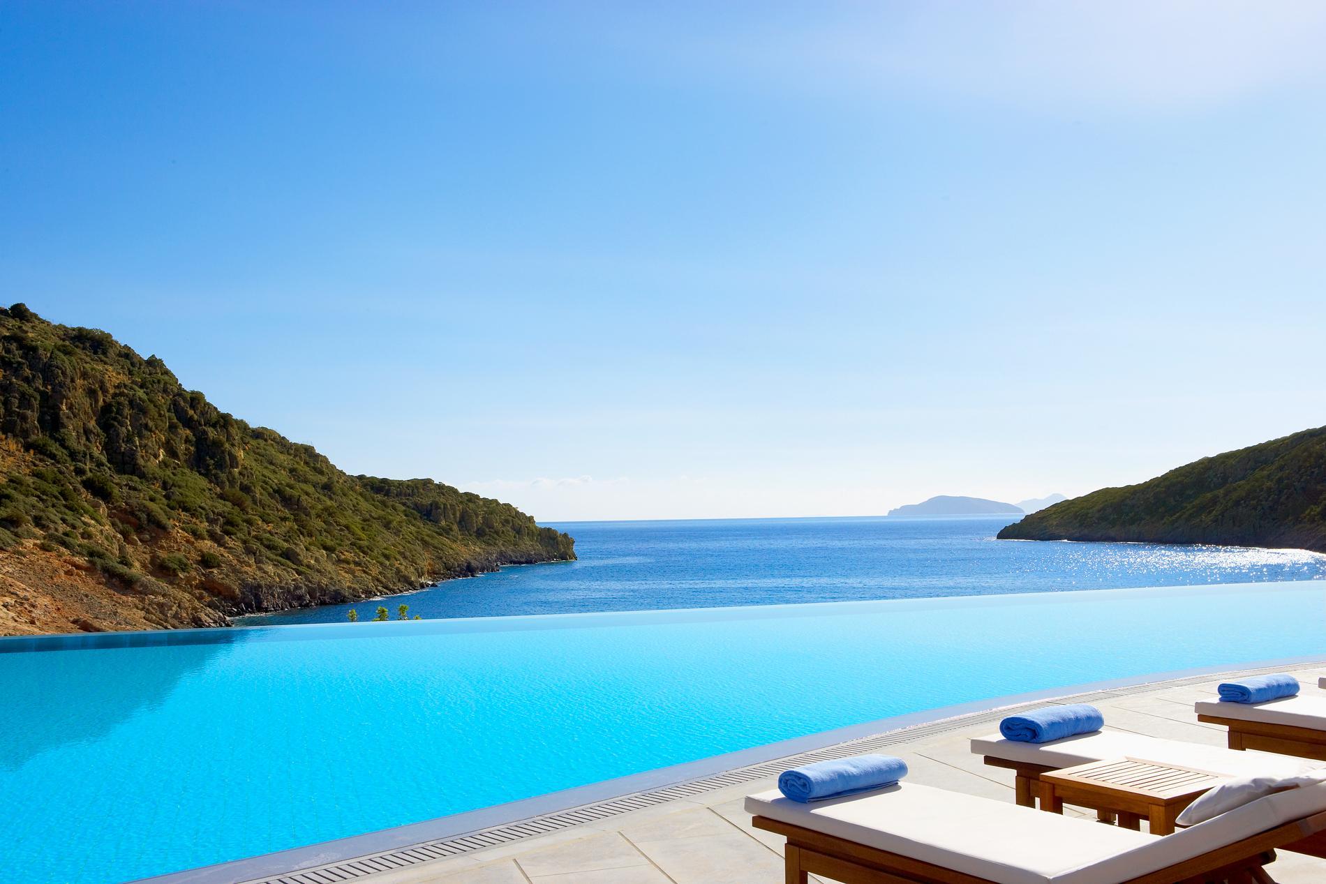 hôtel de luxe en crete