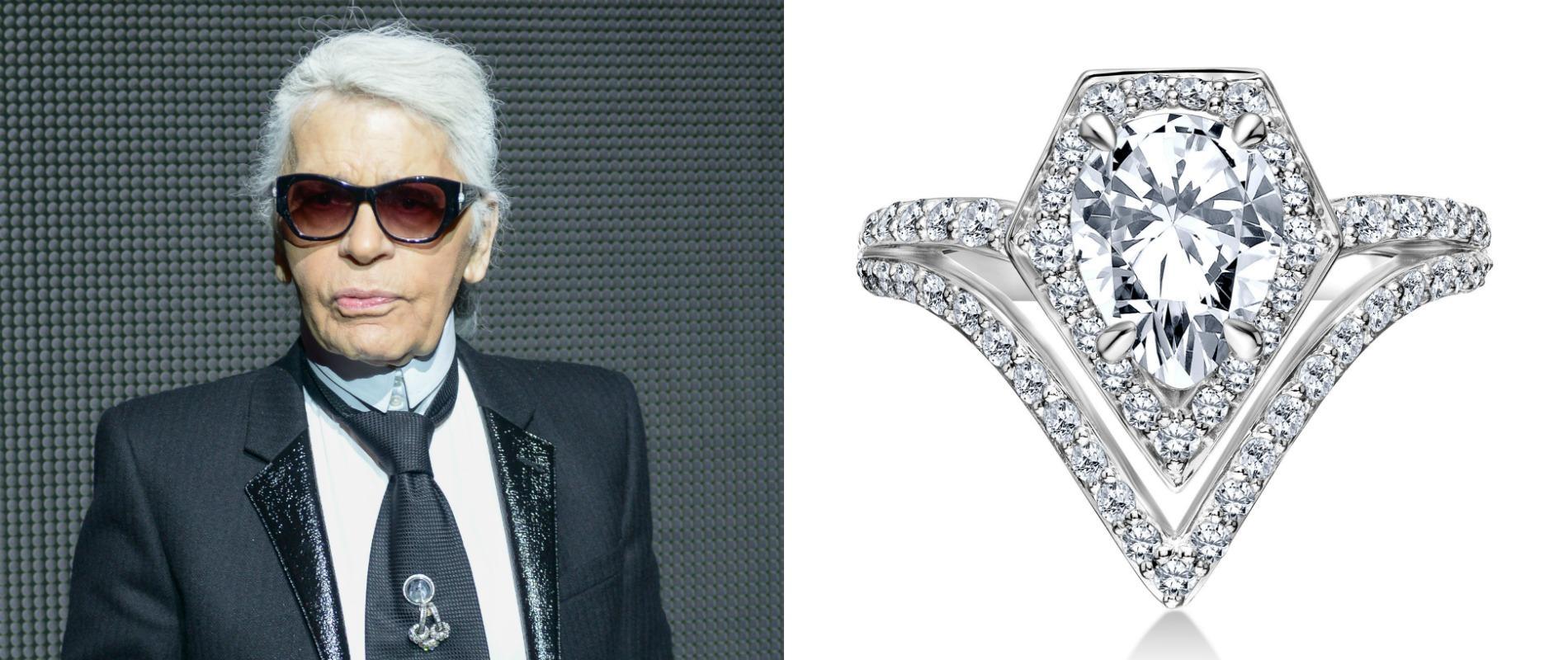 Karl lagerfeld lance sa propre ligne de bijoux de mariage for Sites de mariage en ligne