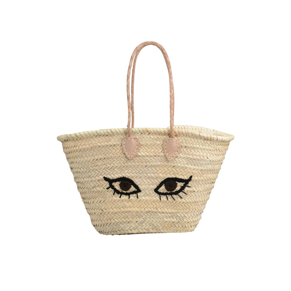 Panier en osier pourquoi c est le sac de l t madame figaro - Sac panier osier ...