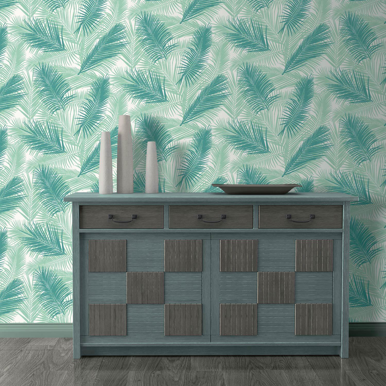 vintage graphique l gant le joli papier peint fait le mur madame figaro. Black Bedroom Furniture Sets. Home Design Ideas