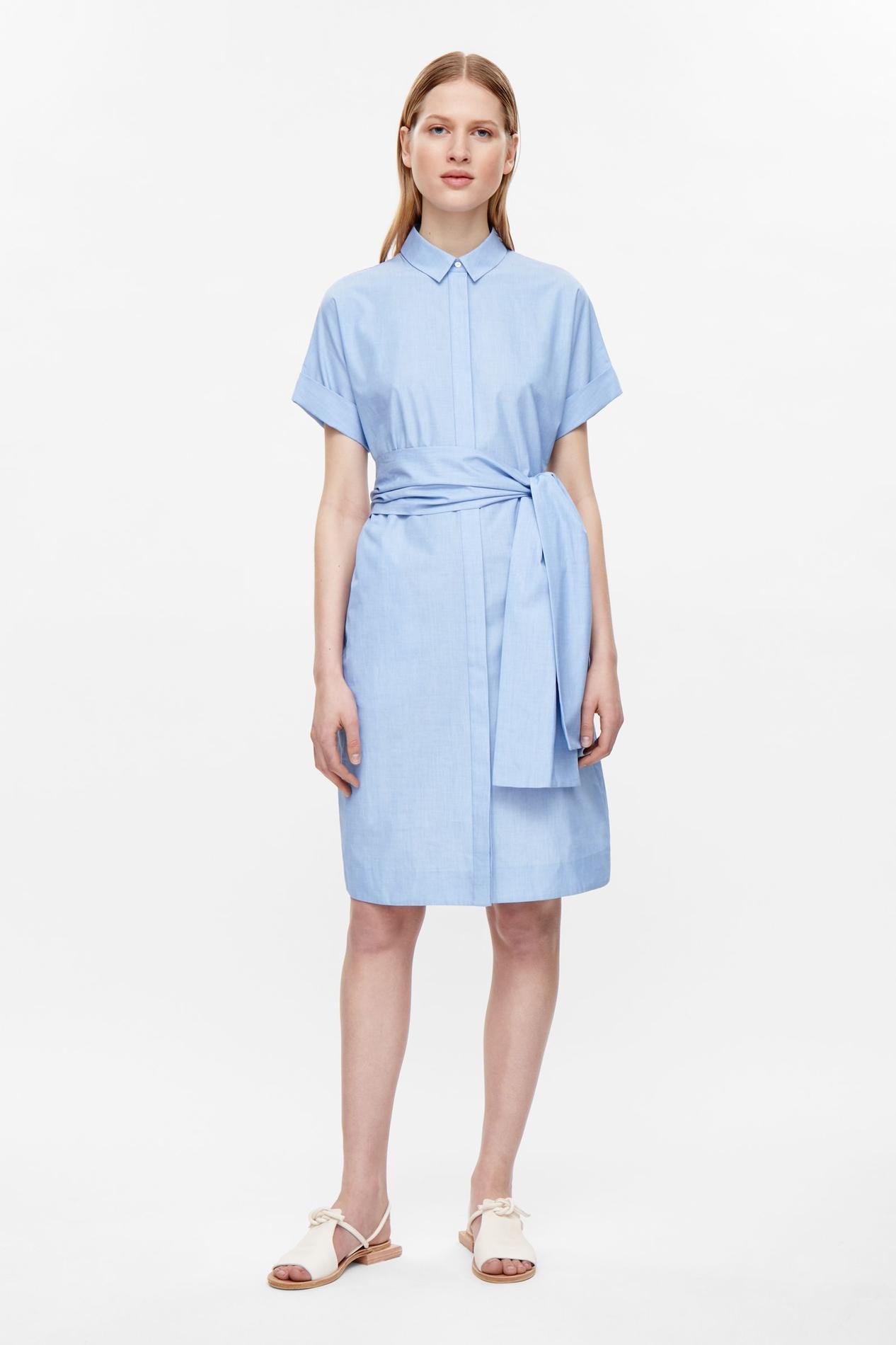 La robe chemise un ind modable de l t depuis marie - Comment porter une chemise transparente ...