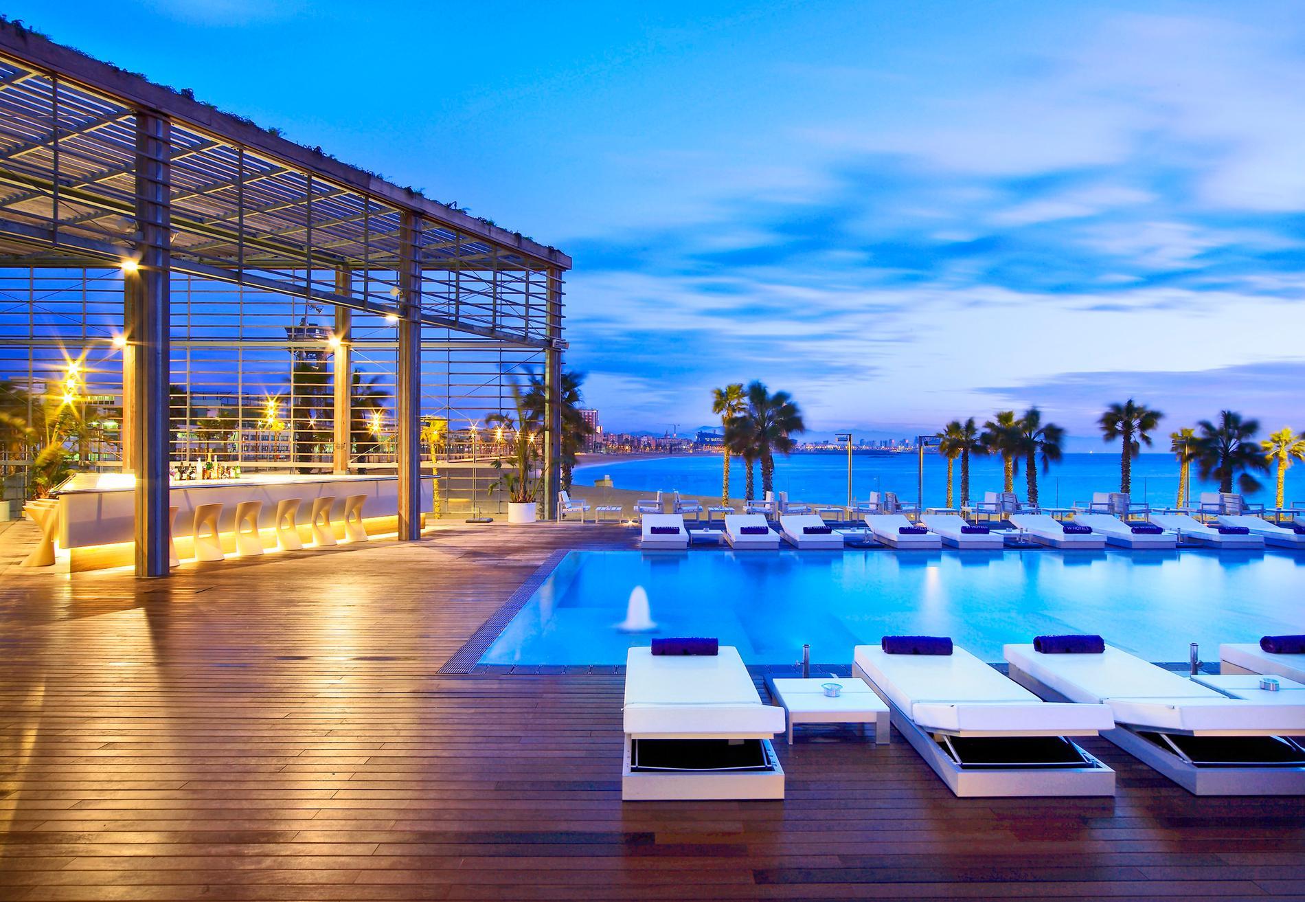 Besoin d un break au soleil cap sur l espagne madame for Spa hotel w barcelona
