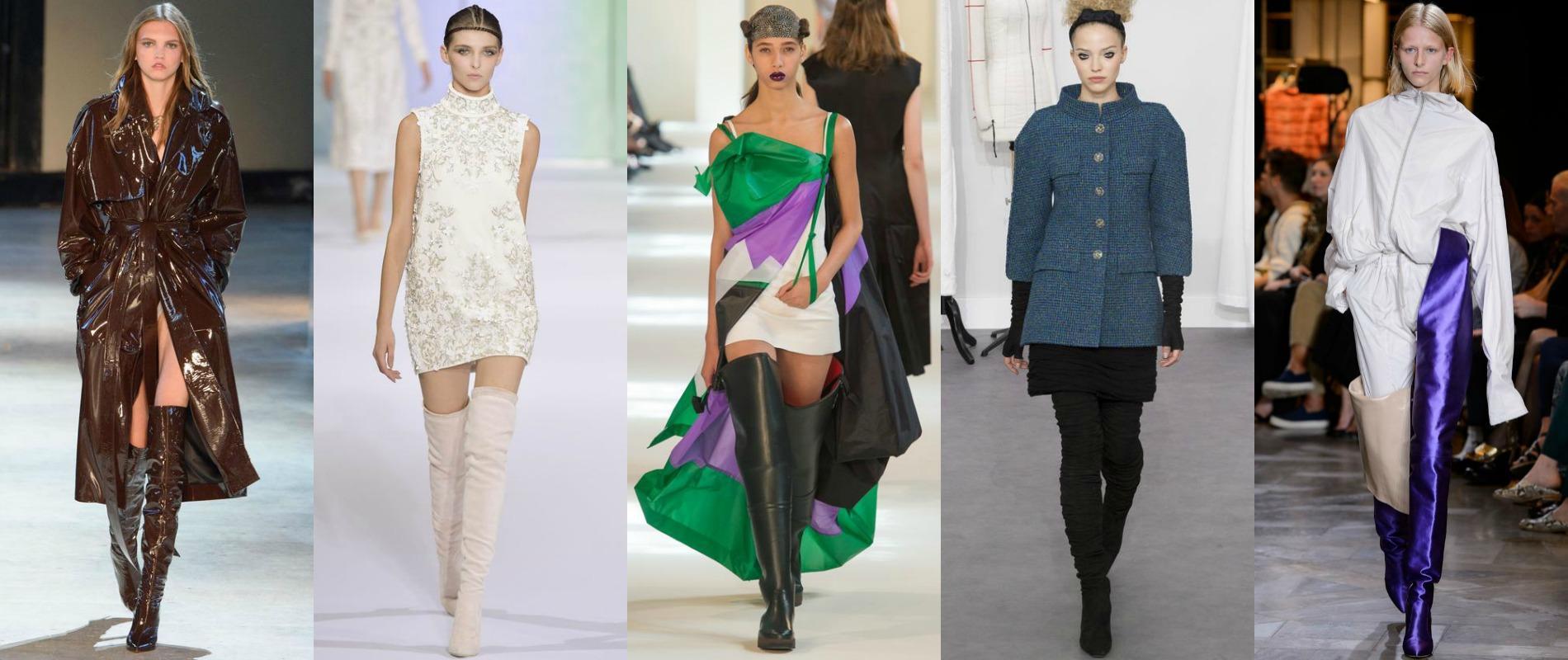 Fashion Week Les Cuissardes La Conqu Te De La Haute Couture Madame Figaro