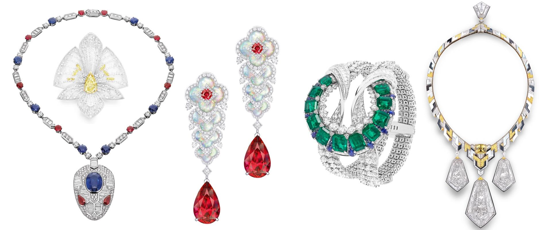 Haute joaillerie les plus beaux bijoux du monde s exposent - Les plus beaux van plan de maison du monde ...