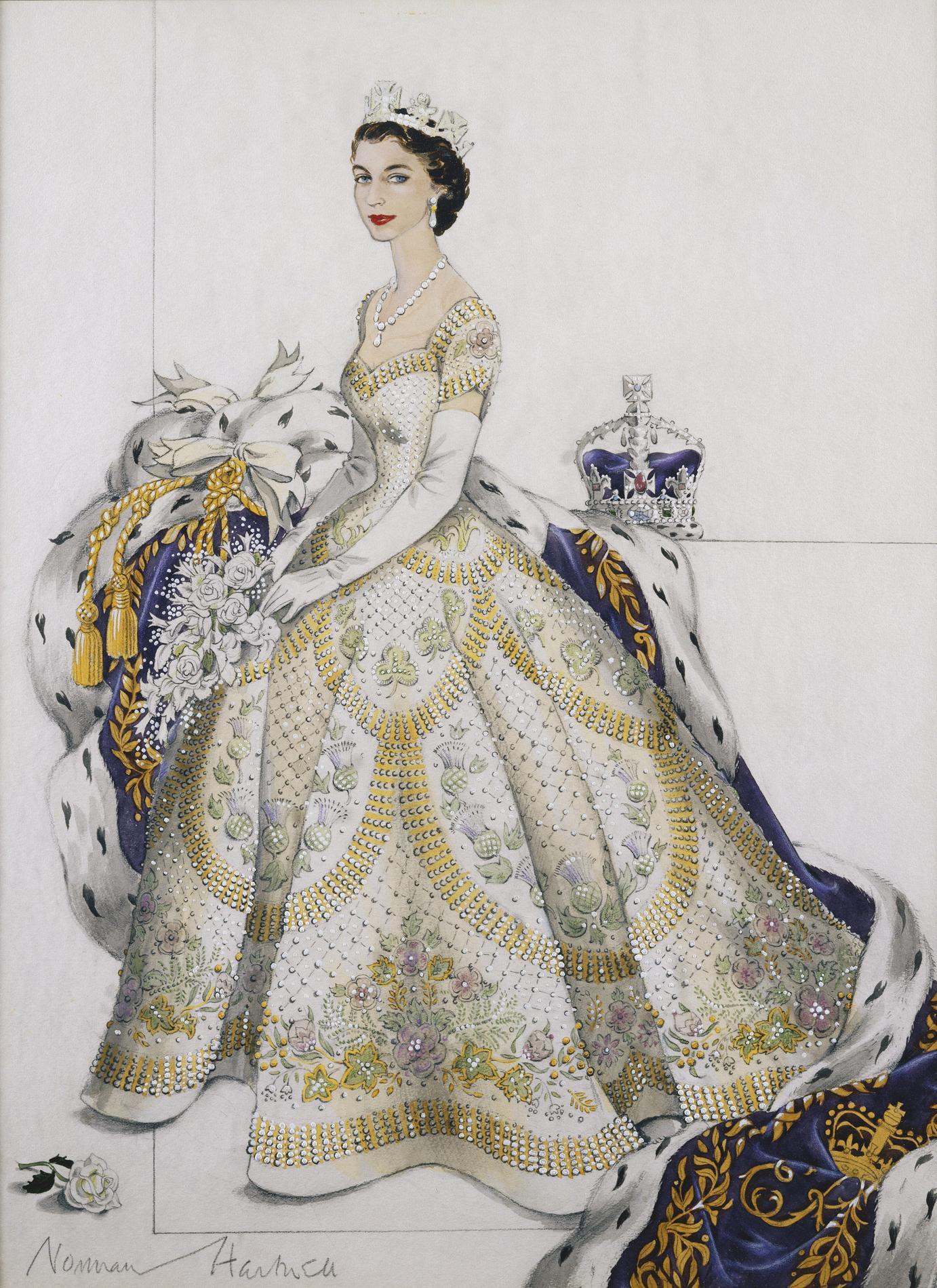 elizabeth ii h ro ne vibrante de the crown une s rie. Black Bedroom Furniture Sets. Home Design Ideas