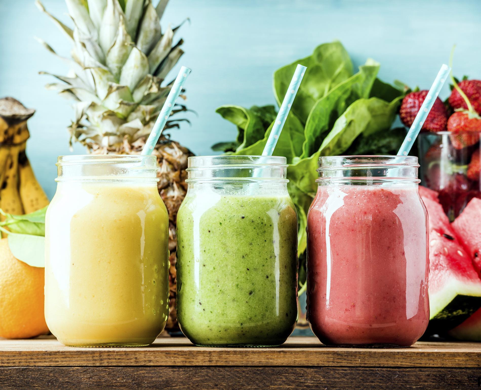 7 smoothies pour perdre du poids
