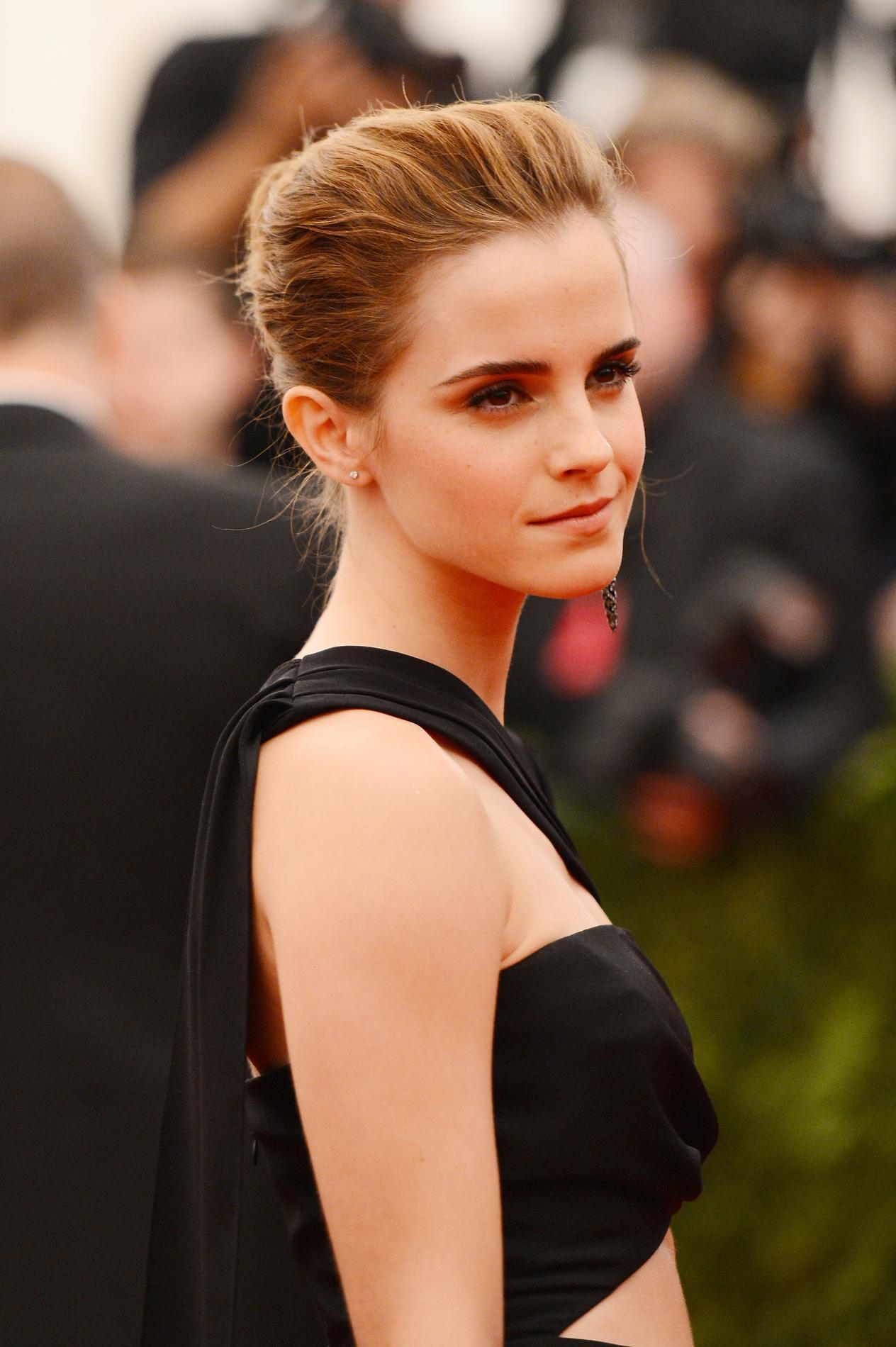Les plus belles coiffures d'Emma Watson - les cheveux Sonia Rykiel Keira Knightley