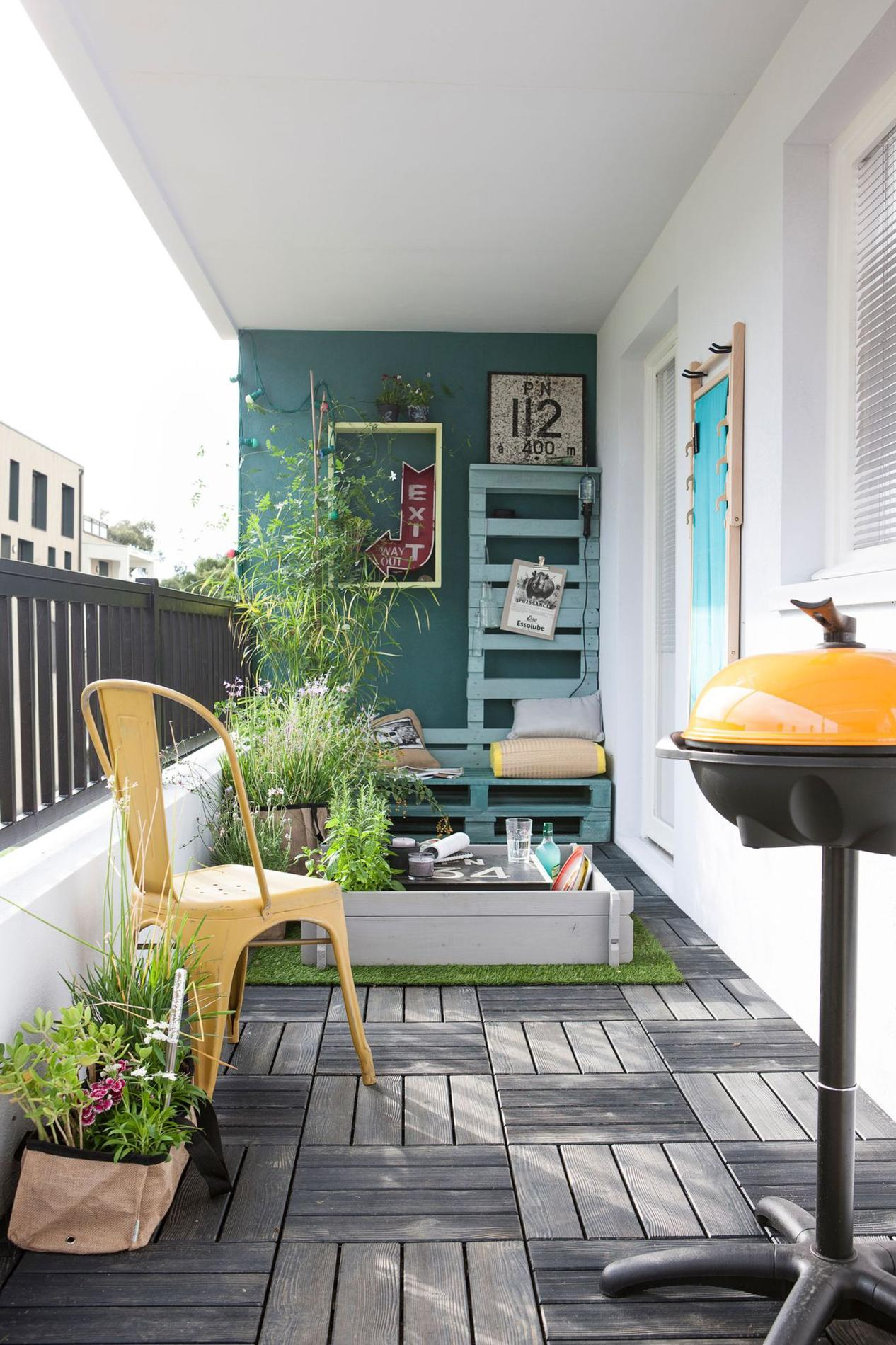 Comment donner du style vos balcons et terrasses for Design balcon exterieur