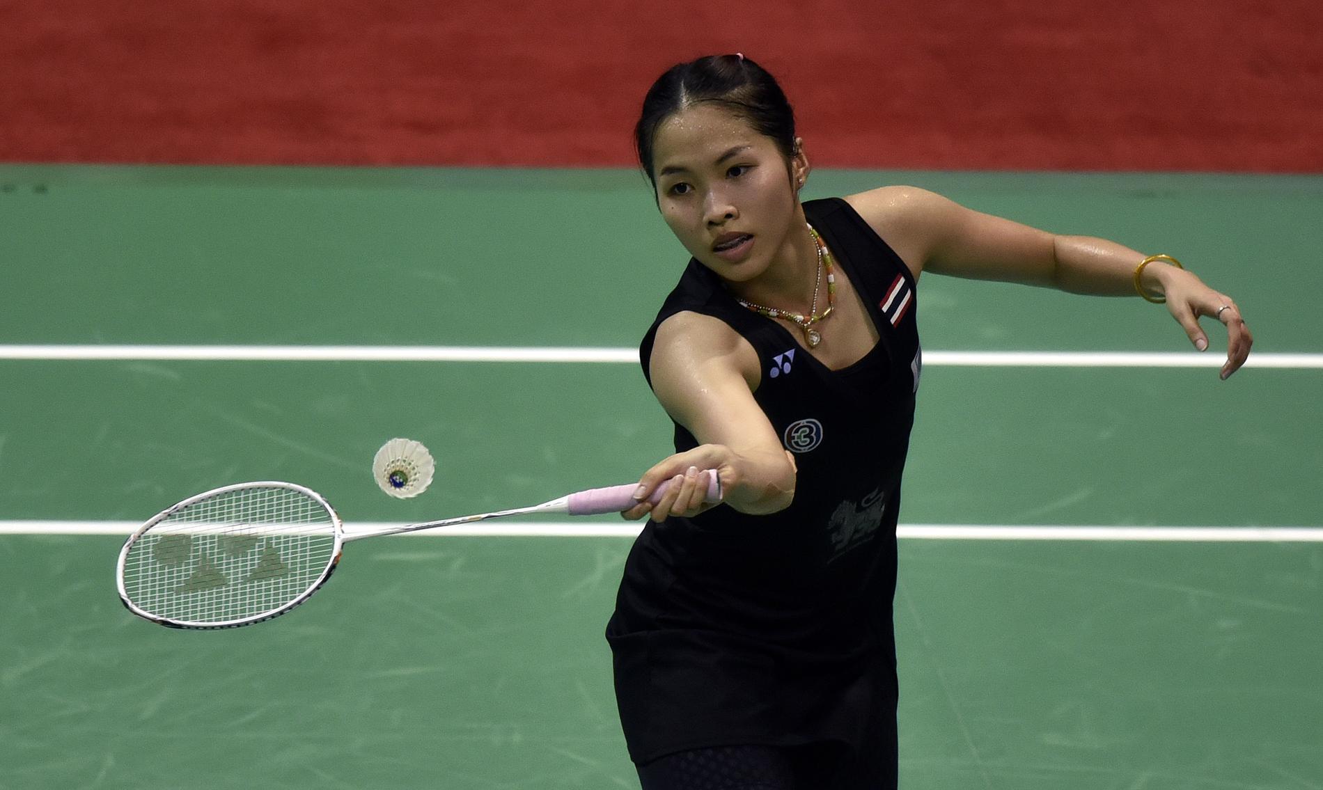 JO 2016 Ratchanok Intanon prodige du badminton tha¯landais