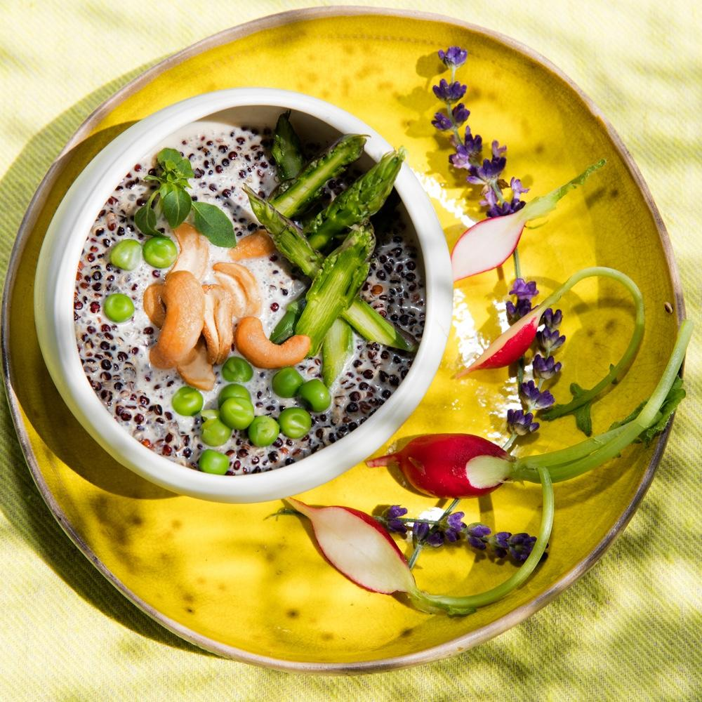 Recette risotto des incas cuisine madame figaro - Risotto noel ...
