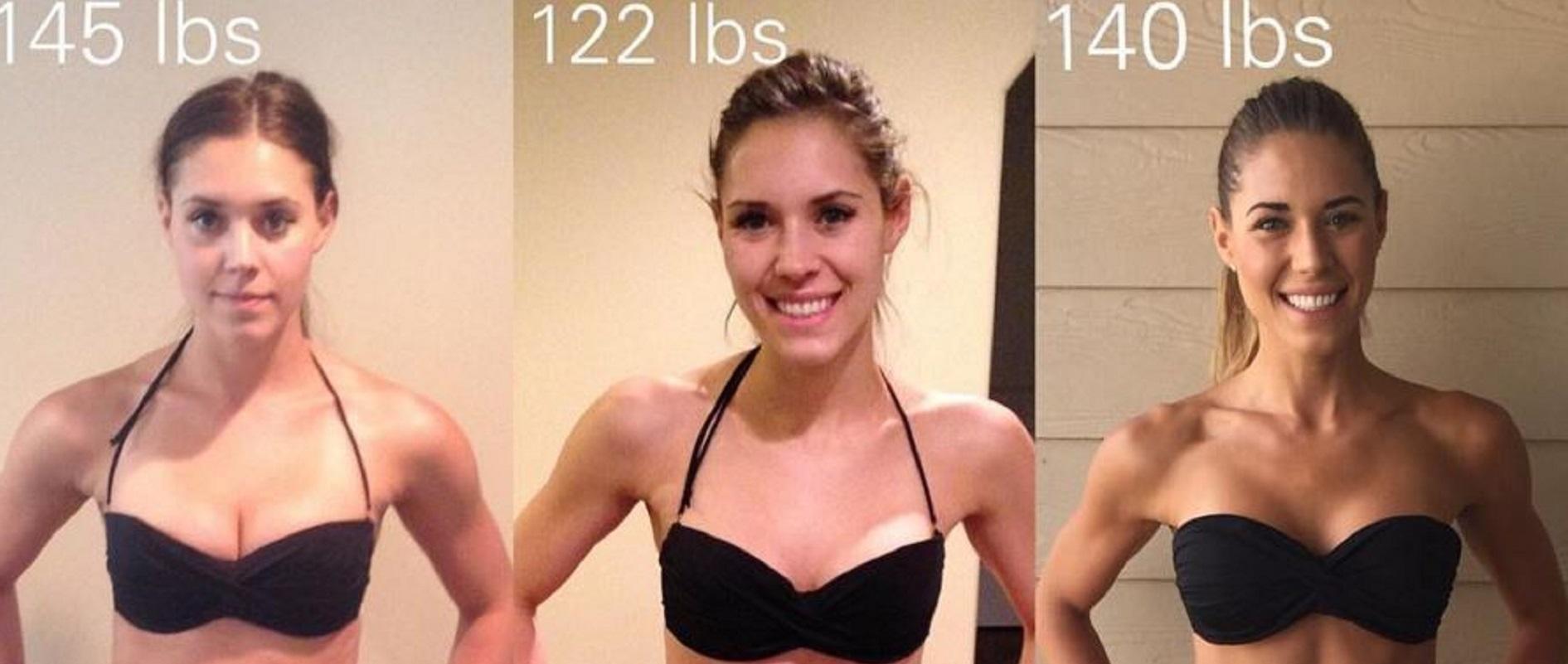 Une blogueuse fitness prouve que le poids sur la balance ne...