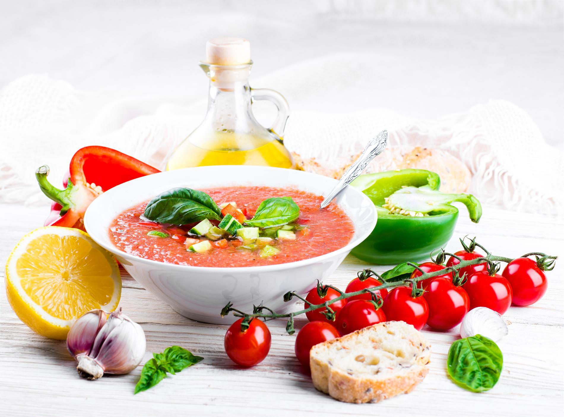 recettes gaspachos recettes faciles et rapides cuisine
