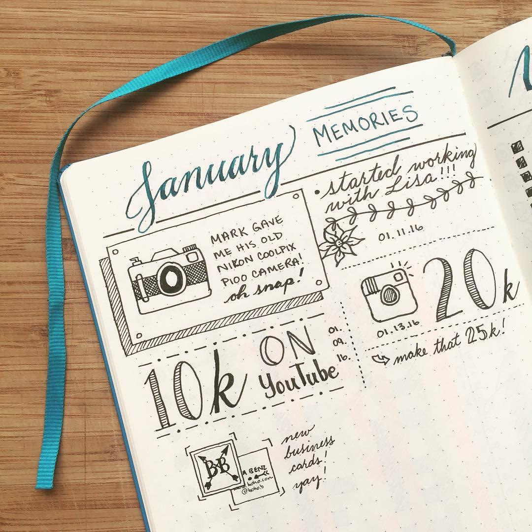 bullet journal simplifie