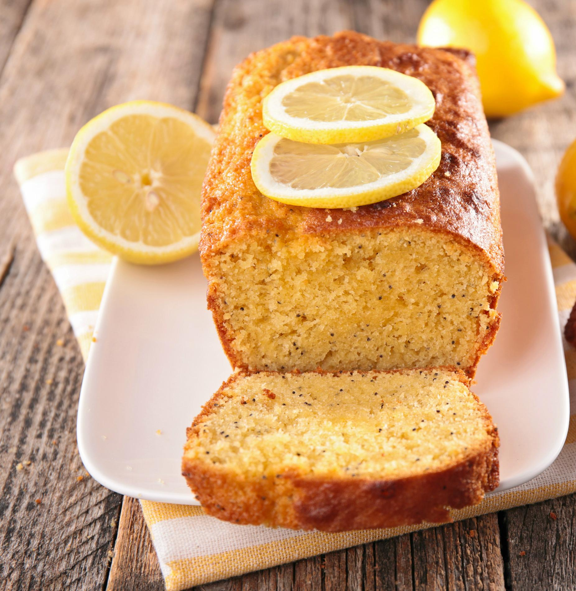 recette cake au citron cuisine madame figaro. Black Bedroom Furniture Sets. Home Design Ideas